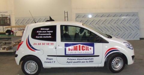 Autocollant voiture Perpignan