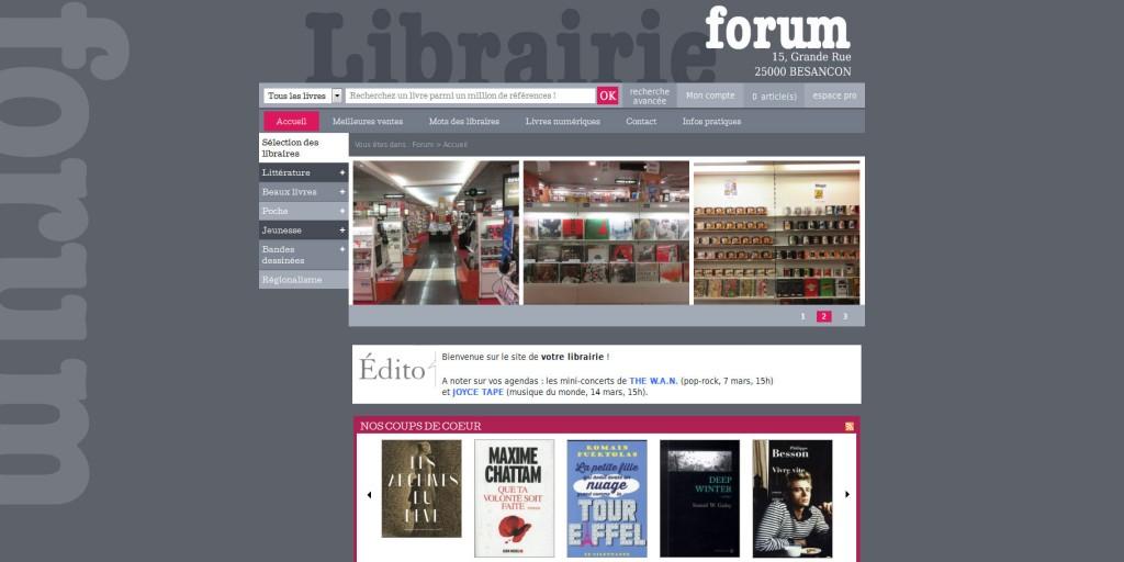 librairie-forum