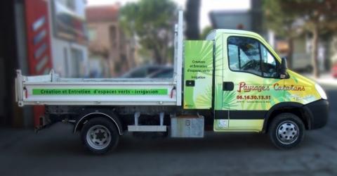 numérique camion paysages catalans