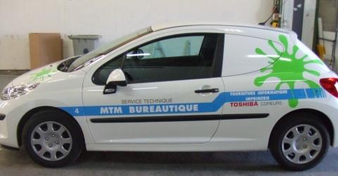 Lettrage automobile Perpignan